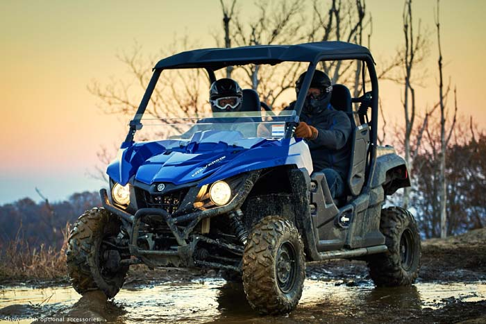 2016 Yamaha Wolverine R-Spec EPS Side by Side in Action
