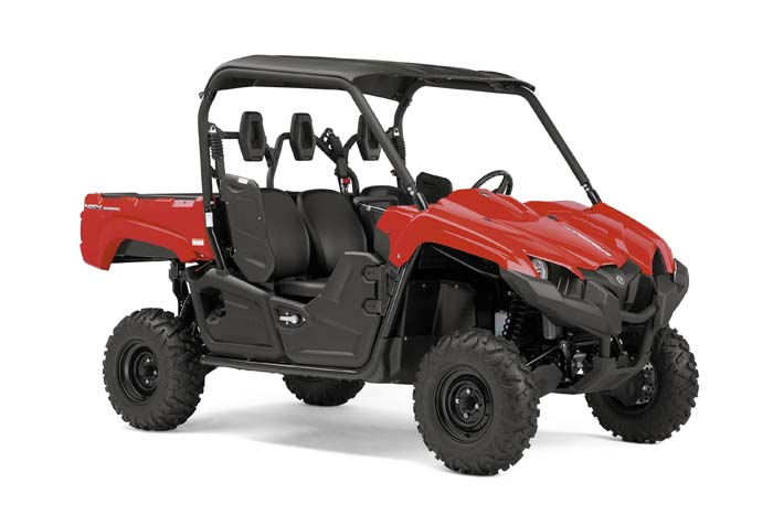 2016 Yamaha Viking EPS Side by Side Realtree Xtra - Red
