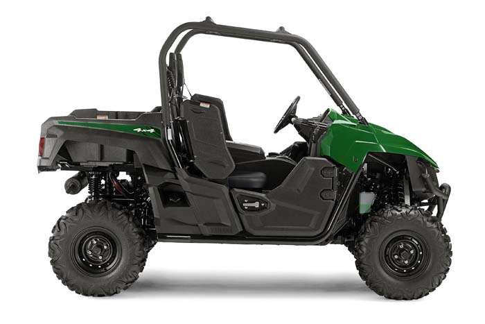 2016 Yamaha Wolverine Side by Side - Hunter Green Side View