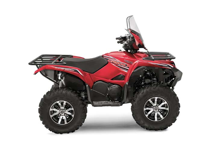 2016 Yamaha Grizzly EPS LE ATV - Side View