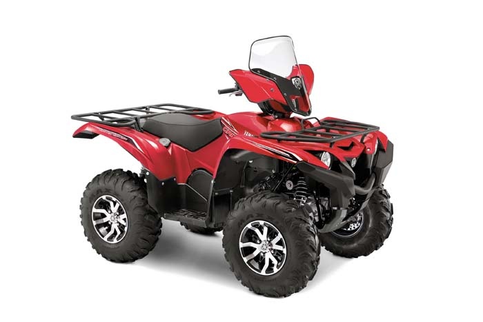 2016 Yamaha Grizzly EPS LE ATV - Front Side View