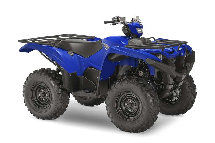 2016 Yamaha Grizzly EPS - Steel Blue