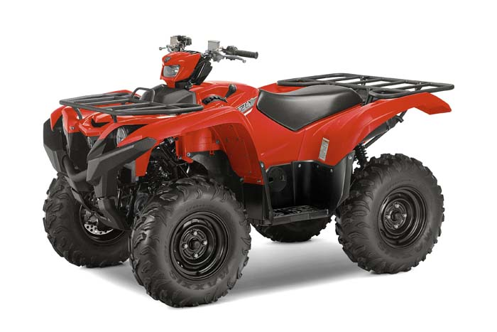 2016 Yamaha Grizzly EPS - Red