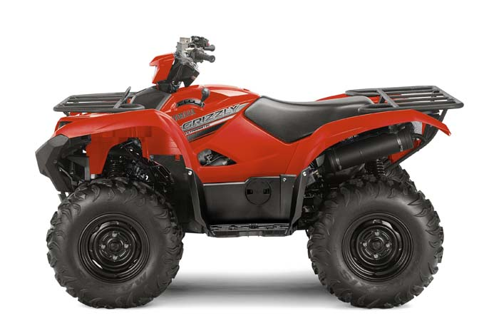 2016 Grizzly ATV - Red