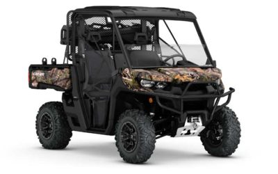 2018 DEFENDER MOSSY OAK HUNTING EDITION Side by Side