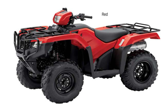 2018 Honda FourTrax Foreman 4x4 ESP EPS ATV - Red