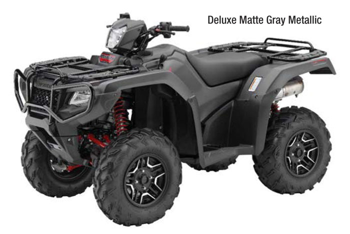 2018 Honda FourTrax Foreman Rubicon DCT 4x4 EPS ATV - Matte Gray Metallic