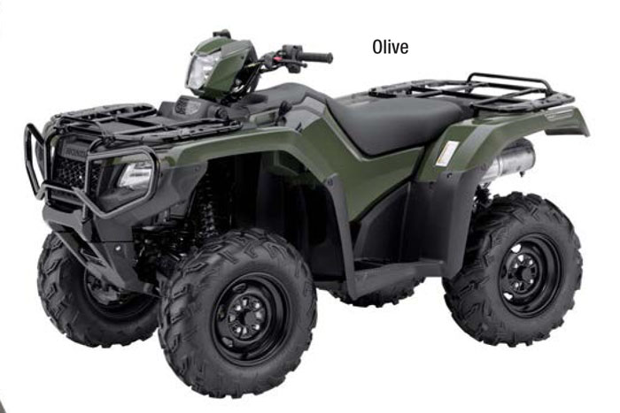 2018 Honda FourTrax Foreman Rubicon DCT 4x4 EPS ATV - Olive