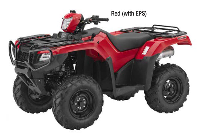 2018 Honda FourTrax Foreman Rubicon DCT 4x4 EPS ATV - Red