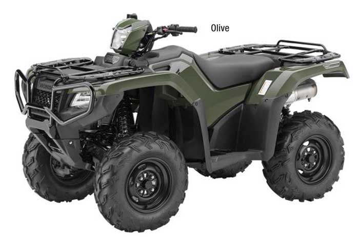 FourTrax Foreman Rubicon 4x4 with EPS - Olive