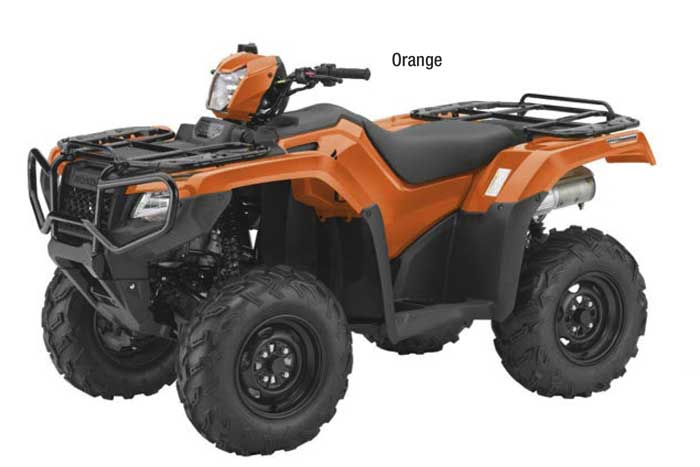 2018 FourTrax Foreman Rubicon 4x4 with EPS - Orange