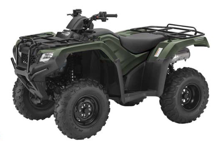 2018 Honda FourTrax Rancher Automatic DCT IRS EPS ATV - Olive
