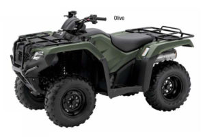 2018 Honda FourTrax Rancher 4x4 ESP ATV