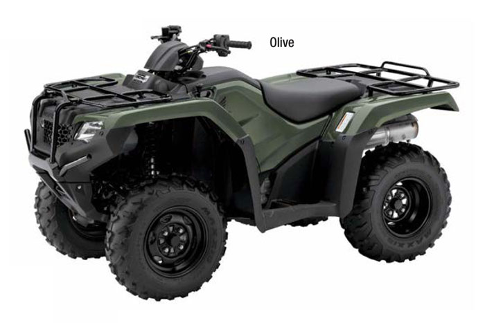 2018 Honda FourTrax Rancher 4×4 ESP ATV