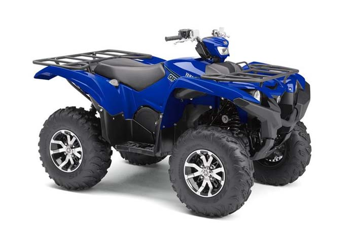 2018 Grizzly EPS - Yamaha Blue w/Aluminum Wheels