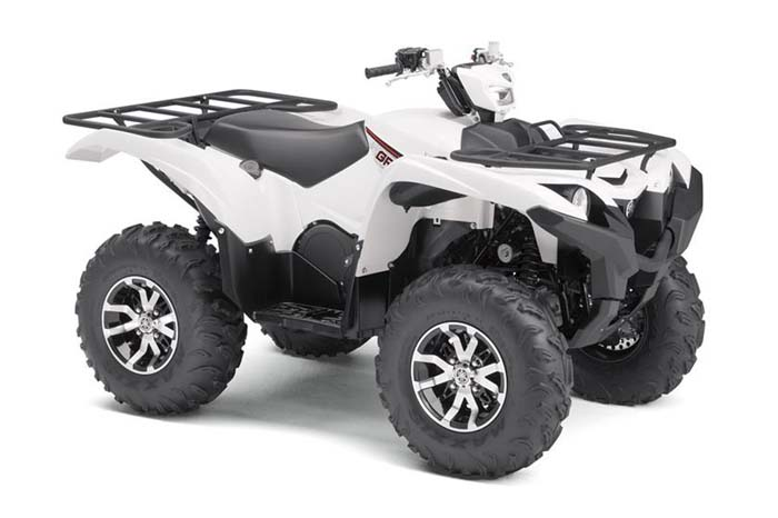 2018 Grizzly EPS ATV - Alpine White