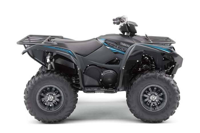 2018 Yamaha Grizzly EPS SE - Matte Carbon