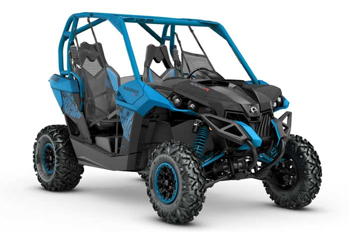2018 MAVERICK X xc Black & Octane Blue / 1000R