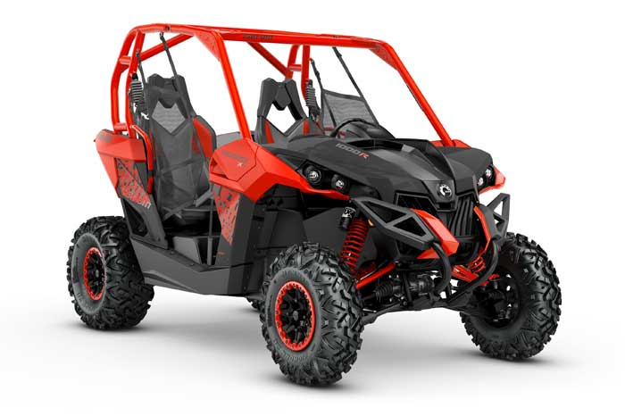 2018 MAVERICK X xc Black & Can-Am Red / 1000R