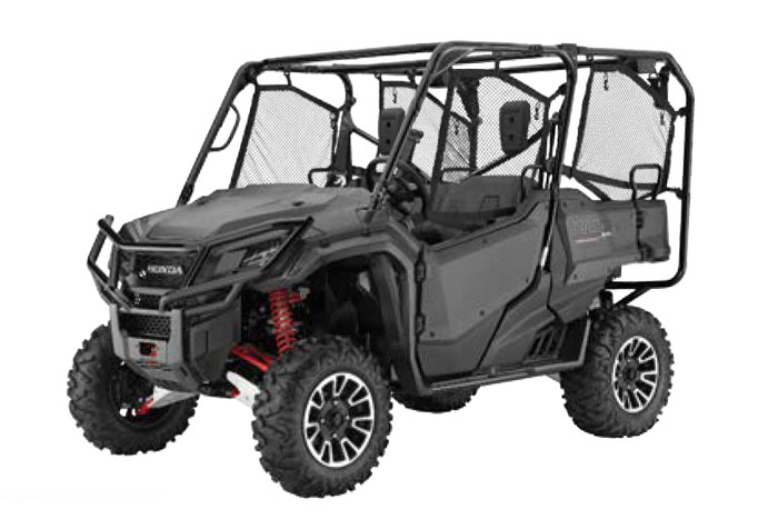 2018 Honda Pioneer 1000-5- Matte Gray Metallic - 1000-5 Limited Edition
