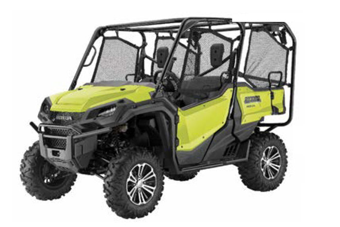 2018 Honda Pioneer 1000-5  Active Yellow