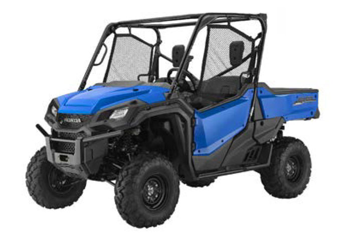 2018 Pioneer 1000 - Metallic Blue