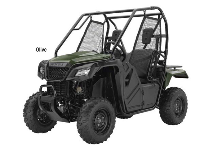 2018 Honda Pioneer 500 Side by Side - Olive