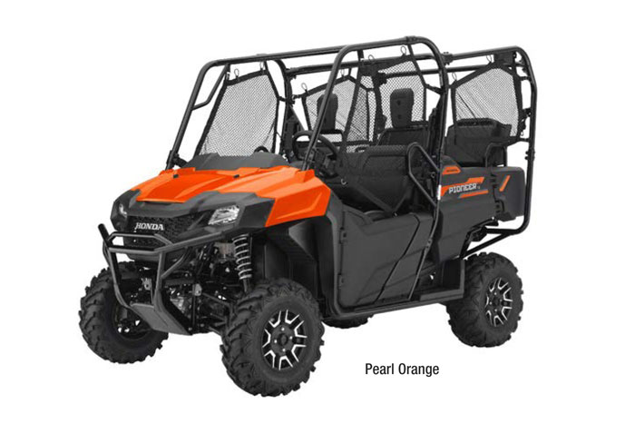 2018 Honda Pioneer 700-4 - Pearl Orange