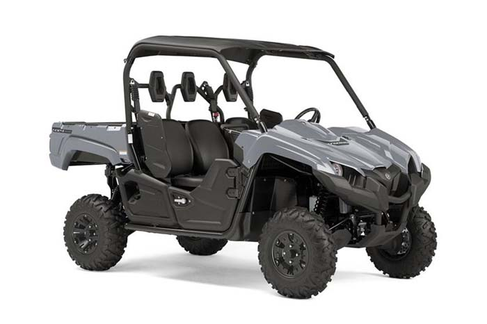 2018 Yamaha Viking EPS Side-by-Side - Armor Grey w/Suntop & Aluminum Wheels