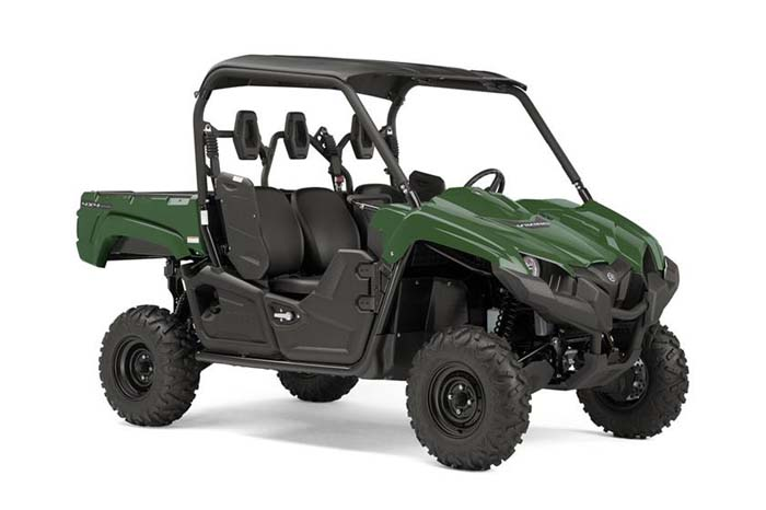 2018 Yamaha Viking EPS Side-by-Side - Hunter Green w/Suntop
