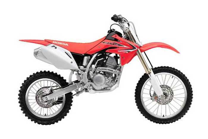 CRF150R-red