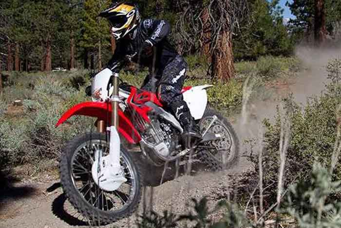 CRF250X-action