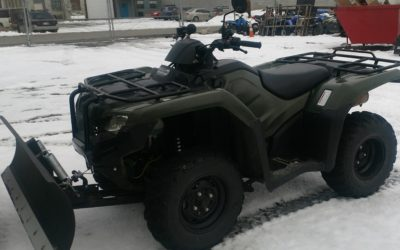 LOOK!!!!!! 2014 Honda Rancher 420 with winch and plow