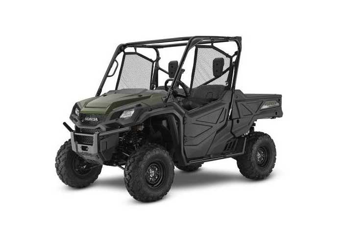 2016 Honda Pioneer 1000 Side by Side olive