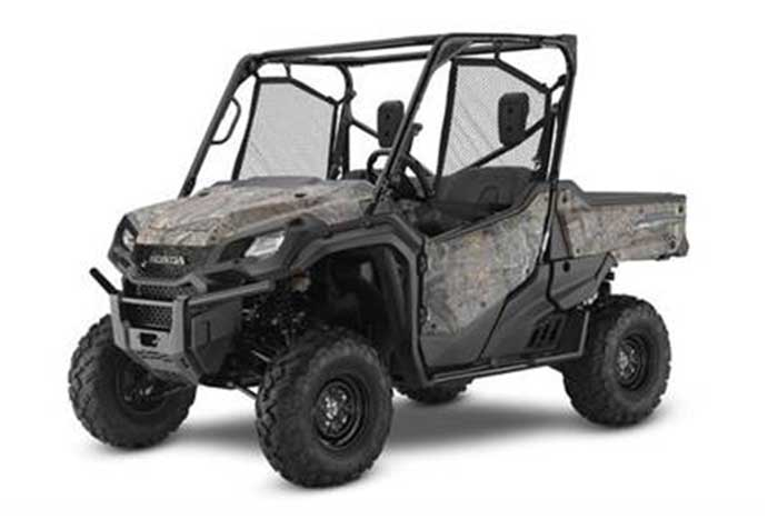 2016 Honda Pioneer 1000 Side by Side camo