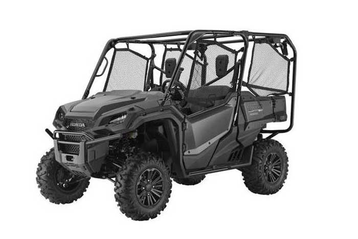 2016 Honda Pioneer 1000-5 Side by Side metallic silver