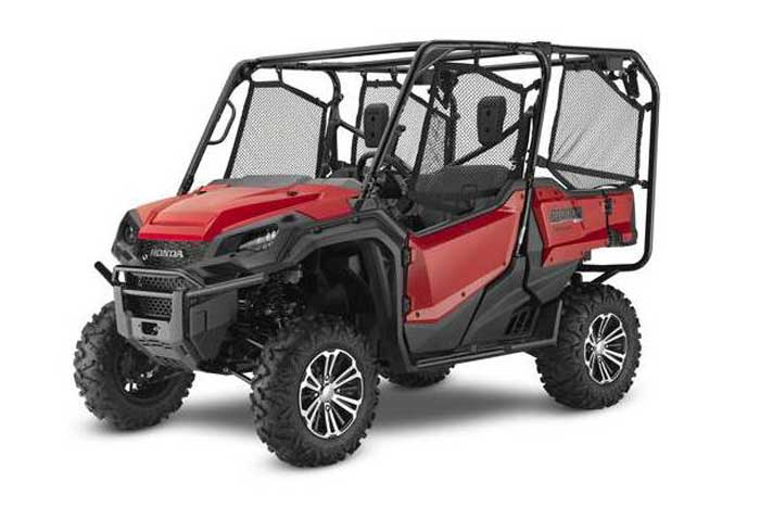 2018 Honda Pioneer 1000-5 Side by Side red