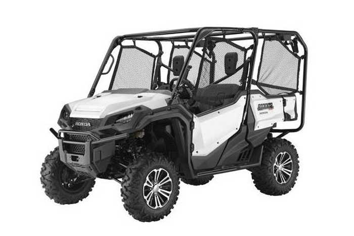 2016 Honda Pioneer 1000-5 Side by Side white