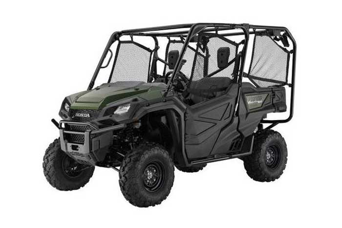 2018 Honda Pioneer 1000-5 Side by Side olive