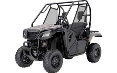 2018 Honda Pioneer 500 Side by Side
