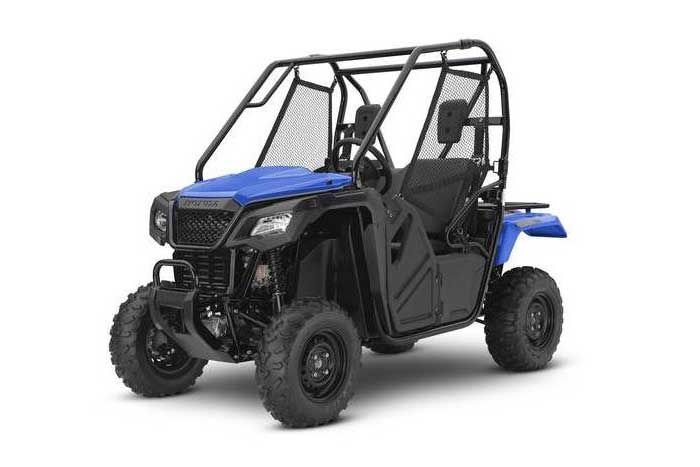 2016 Honda Pioneer 500 Side by Side