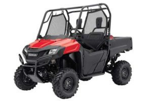 2016 Honda Pioneer 700 Side by Side