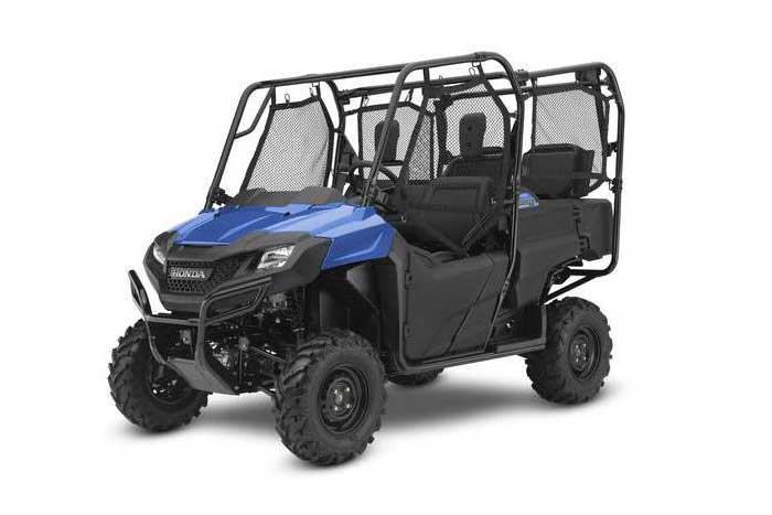 2016 Honda Pioneer 700-4 Side by Side Metallic Blue