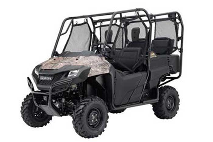 2018 Honda Pioneer 700-4 Side by Side camo