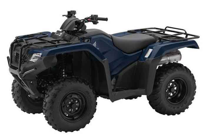 Blue 2016 FourTrax Rancher Automatic DCT with EPS