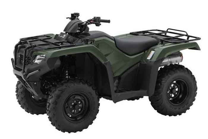Olive 2016 FourTrax Rancher Automatic DCT with EPS