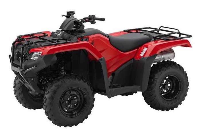 Red 2018 FourTrax Rancher Automatic DCT with EPS