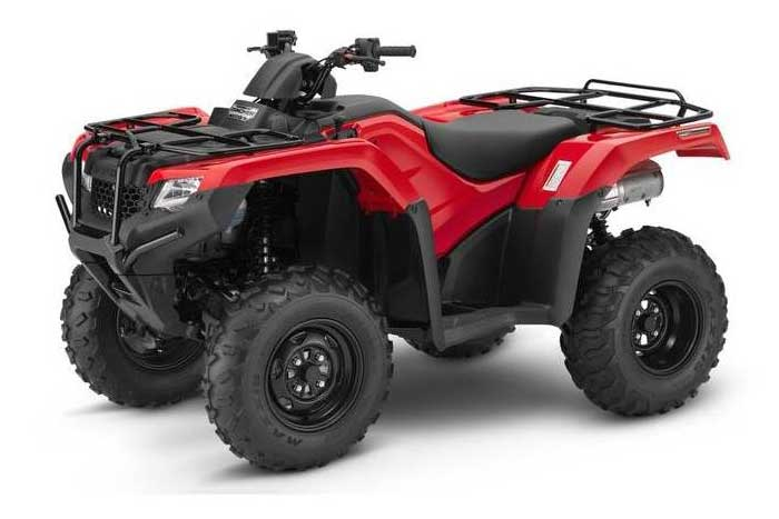 FourTrax Rancher Automatic DCT IRS EPS - Red