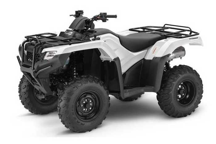 FourTrax Rancher Automatic DCT IRS EPS white
