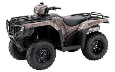 2016 Honda FourTrax Foreman 4×4 EPS ATV